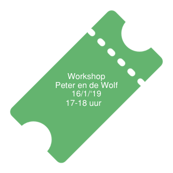 workshop ticket peter wolf 1500uur